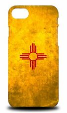 NEW MEXICO US AMERICAN STATE FLAG HARD CASE COVER FOR APPLE iPHONE 7