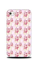 LOVE HEART VALENTINE PATTERN 7 HARD CASE COVER FOR APPLE IPHONE 4 / 4S