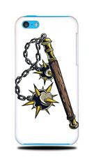 WEAPONS DRAWING MACE HARD CASE COVER FOR APPLE IPHONE 5C