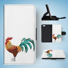 ROOSTER CHICKEN FARM BIRD FLIP WALLET CASE COVER FOR IPHONE 6 / 6S