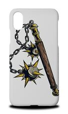 WEAPONS DRAWING MACE HARD CASE COVER FOR APPLE IPHONE X