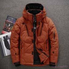 Winter Outdoor New Mens Parka Warm Overcoat Duck Down Jacket Coat Hooded Thicken