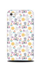 CUPCAKE BIKE CAMERA PATTERN HARD CASE COVER FOR APPLE IPHONE 4 / 4S