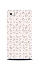 FOOD ICE CREAM HEART PATTERN 2 HARD CASE COVER FOR APPLE IPHONE 4 / 4S