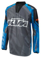KTM Hydroteq Shirt Grey Blue Off Road Waterproof Motorcycle Shirt New RRP £59.46