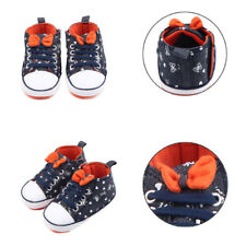 Toddler Casual Shoes Baby Boys Crib Prewalker Sneakers Canvas Shoes