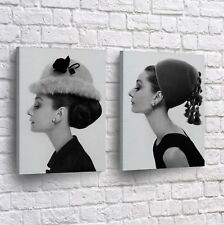 Audrey Hepburn Movie Canvas Pop Art Print Picture Framed Wall Decor