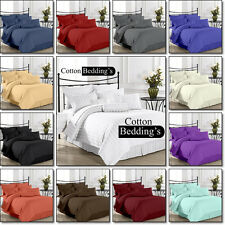 1000 TC Egyptian Cotton US Size Hotel Collection Brand 4pc Sheet Set in Striped