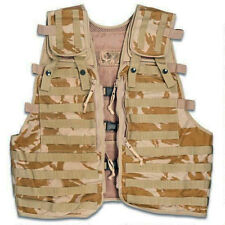 British Army Issue Desert Molle Compatible Load Carrying Tactical Ops Vest DPM