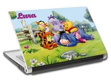 Winnie The Pooh Tigger Personalized LAPTOP Skin Decal Vinyl Sticker NAME L597