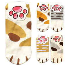 Lady Girls Summer Winter Cartoon Cute Cats Paw Kitty Claws Ankle Short Socks WOW
