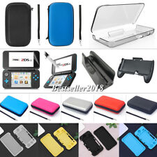 For Nintendo 2DS XL LL 2017 Carrying Case Bags/ Screen Protector/ Charger /Grip