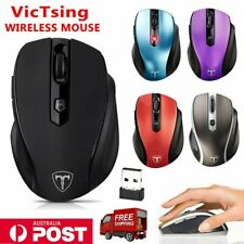 VicTsing Mini USB Wireless Mouse Optical Cordless Mice for Laptop Notebook PC AU