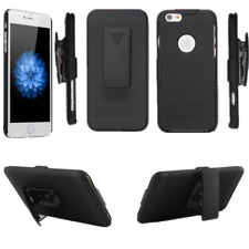 Protective Holster Stand Case Cover With Belt Clip For iPhone X 8 Plus 6S 5
