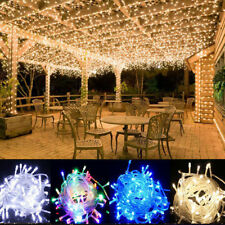 2/3/10/20/100M LED String Fairy Lights Christmas Xmas Party Decor Trees Garden
