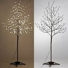 6Ft LED Lighted Tree Blossom Christmas Decoration Warm White Living Room Outdoor