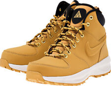 Nike Big Kid's MANOA LTH ACG GS BOOTS Shoes Haystack 472648-700 a1 Size 5