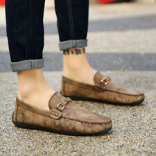 Mens Comfy Loafer  Leisure Casual Leather Oxfords Moccasins Driving Shoes de6
