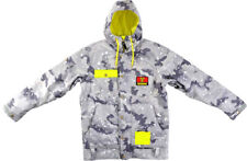 BRAND NEW Technine WORK Snowboard Jacket GRAY CAMO LARGE-XLARGE LIMITED DS17