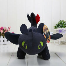 """10"""" How to Train Your Dragon Toothless Night Fury Stuffed Animal Plush Toy Doll"""