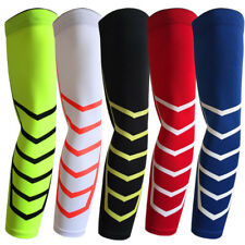 Sports Arm Support Elbow Dri-Fit Compression Sleeve Stretch Basketball M L XL