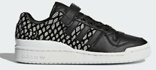 adidas Originals Women FORUM LO SHOES Leather Upper BLACK/WHITE-Size US 8,9 Or10