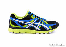 Asics men's Gel-Extreme 33 running shoes sneakers trainers Black White Lime