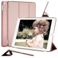 Polyurethane Leather Smart Cover Case Light-weight Facetime Stand for Apple iPad