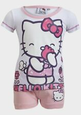 Hello Kitty Girls' Short Sleeve Pyjamas Sleepwear Set