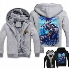 League of Legends LOL Hoodie Might of Demacia Garen Pattern Thick Jacket BKGY