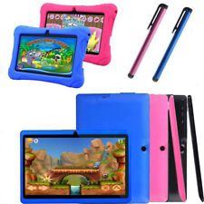 """Kids tablet PC 7"""" Android 4.4 16GB WIFI Dual Camera Quad Core Bundle Best Gift"""