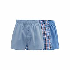 The Collection Mens Big And Tall Pack Of Three Blue Patterned Print Boxers