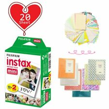 20 Sheet - Fujifilm Instax Mini White Film for Fuji Mini 9 8 90 70 Polaroid Xmas