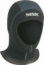 SEAC Double Flap 6mm Neoprene Wetsuit Hood
