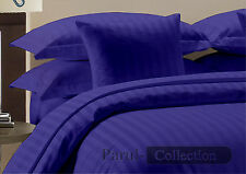New Super Hotel Collection Egyptian Blue Stripe 1000 TC 100% Cotton US Bedding
