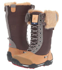 Womens PAJAR CANADA GENEVIEVE Honey LEATHER LACE UP WINTER SNOW BOOTS 7 8 NEW