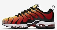 Nike AIR MAX PLUS TN ULTRA MEN'S SHOE Black/Orange/White- US 12, 12.5, 14 Or 15