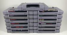 YOU PICK THE TITLE!! Huge Lot Of Super Nintendo SNES Games! Free Shipping!