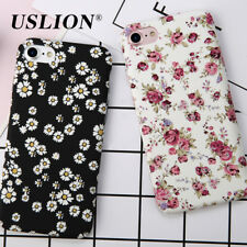 For Apple iPhone 6 6s Plus Luxury Vintage Floral Rose Hard TPU Back Cover Cases
