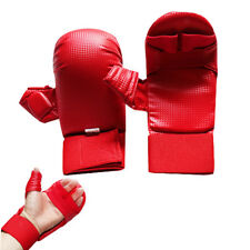 Karate PU Sparring Mitts with Open Palm MMA Martial Arts Taekwondo Punch Bag