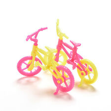 2/5/10Pcs Bicycles Bikes Mini Toy for Barbie Accessories Girls Birthday Gift