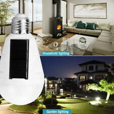 Rechargeable E27 7W Led Solar Camping Tent Touch Light Emergency Lamp W/Hook