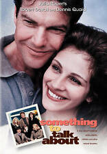 SOMETHING TO TALK ABOUT (DVD, 2010) NEW AND SEALED/ SNAP-CASE