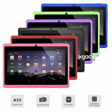 7'' Android 4.4 Tablet PC Kids Children Pad 4xCore 2xCamera  8GB WiFi HOT XGODY