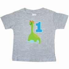 Inktastic Dinosaur Boys 1st Birthday Party Baby T-Shirt First Kids Babys One Old