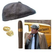 Adults Unisex Fancy Dress Only Fools And Horses Del Boy Party Rings Hat Cigar