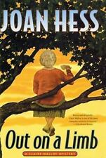 Out on a Limb, by Joan Hess, 2002 Hardcover (Claire Malloy Mysteries 14) f7n16