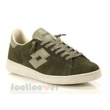 Lotto Leggenda Autograph T0822 EB mens olive shoes low sneakers casual fashion