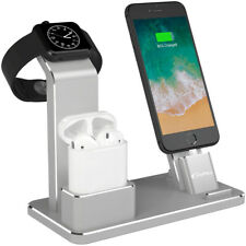 For Airpods Accessories iPhone Apple Watch Stand Aluminum Charging Dock Station