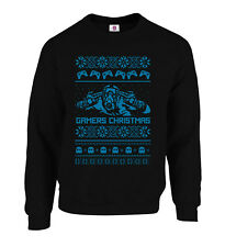 Gamers Christmas Pac and the Man Fallout Ugly Christmas Jumper Sweater